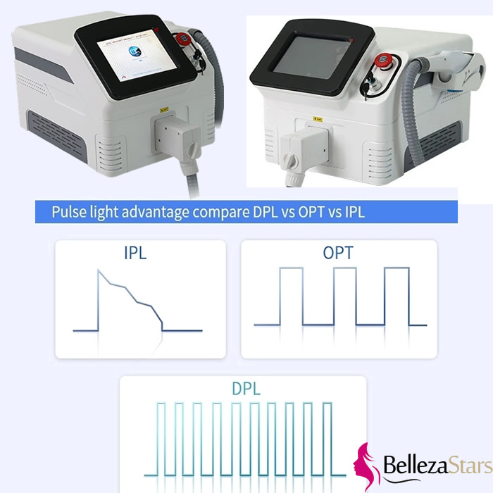 Delicate Pulse Light DPL IPL OPT SHR Hair Removal System