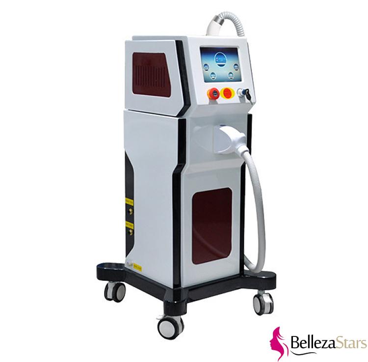 Nd Yag Tattoo Removal Carton Laser Peeling Beauty Machine