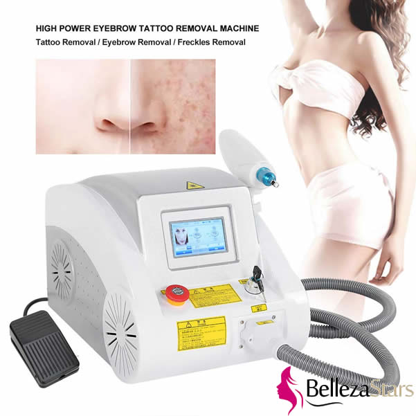 Laser ND YAG Eyebrow Tattoo Pigments Removal Device