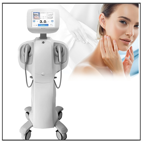 2 in 1 High Intensity Ultrasound 7D Hifu Device for Skin Treatment Face Lifting Fat Burning