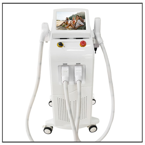 2 in 1 Medical Q Switch Nd Yag Laser 808nm Diode Laser Hair Tattoo Remover