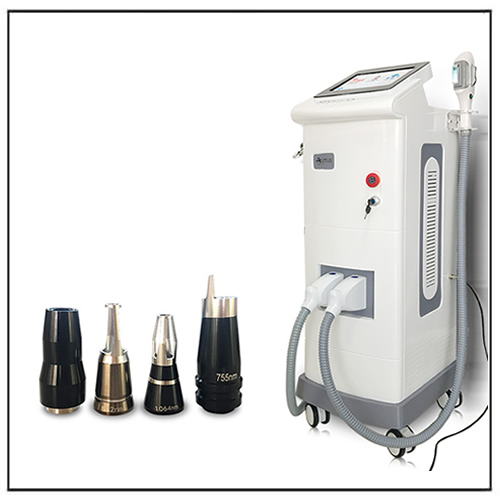 Professional DPL OPT IPL Hair Removal Picosecond Q Switch Nd Yag Laser Tattoo Removal Machine