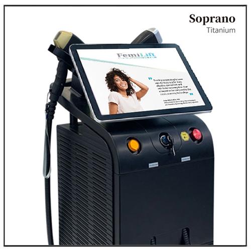 Soprano Ice Titanium Alma Laser Hair Removal Beauty Salon Device