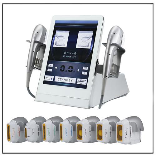 7D Focused Ultrasound Ultra Former Hifu Machine with 7 Cartridges