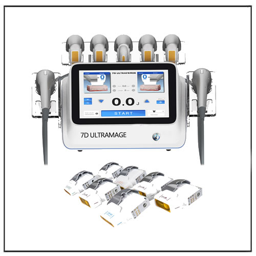 7D Ultramage HIFU with Micro and Macro Focused Cartridges