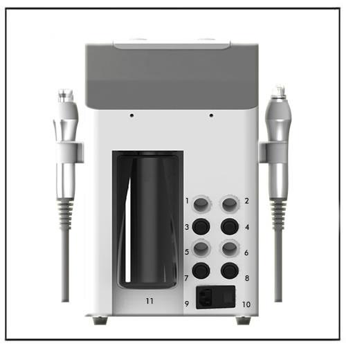 4in1 Pro Facial Hydrodermabrasion Water Peel Microdermabrasion Machine