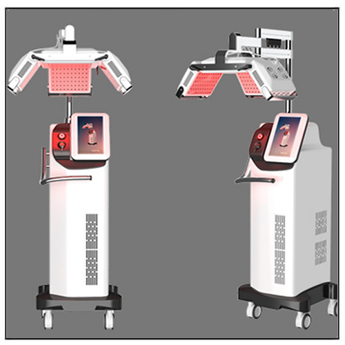 Black Color 650nm Diode Laser Hair Growth Therapy Restoration Machine